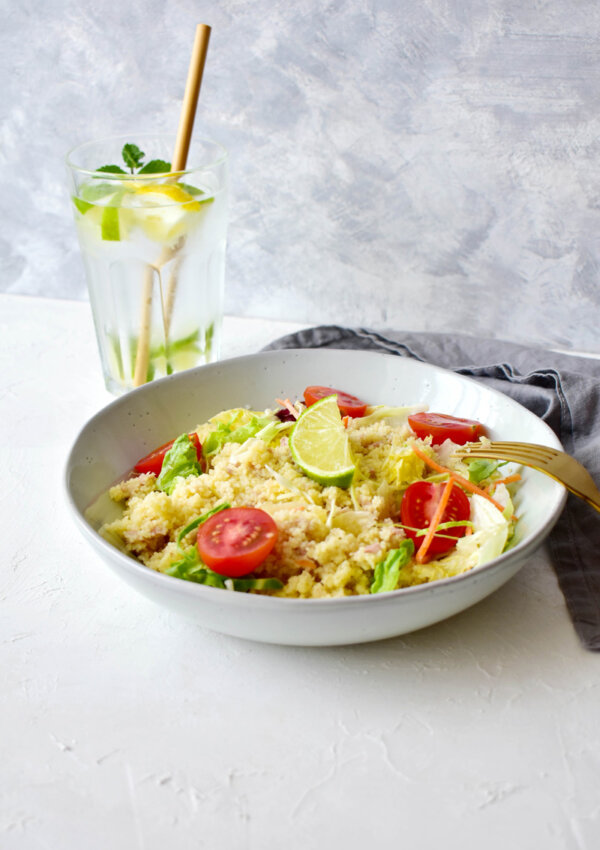 Tonhalas kuszkusz saláta – 10 perc alatt kész!