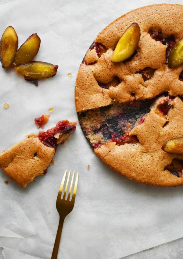 Diétás szilvás pite – alig tartalmaz kalóriát!