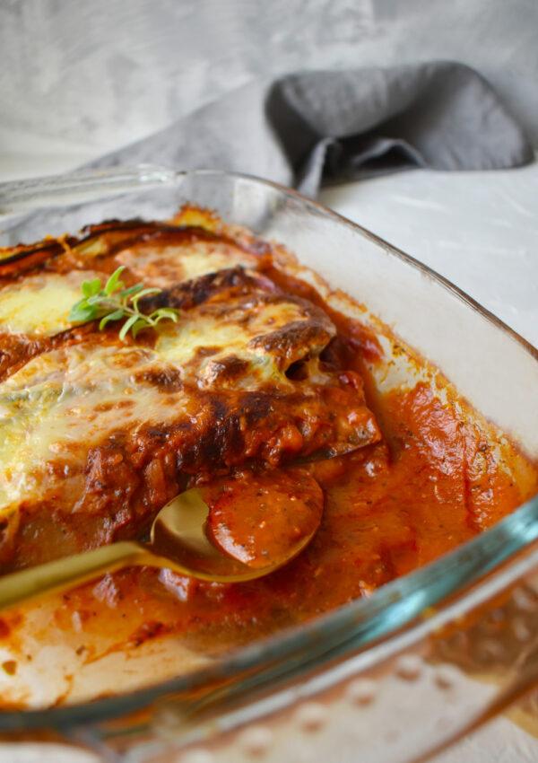 Olasz rakott padlizsán (Parmigiana di melanzane)